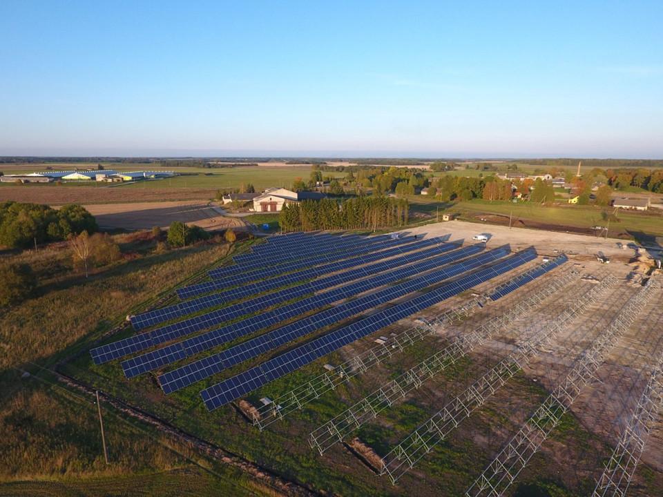 Päikesepargi rajamine